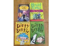 2 dirty Bertie books ,a twits and Jekyll and hyde book
