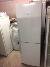 **BOSCH**FRIDGE FREEZER**FROST FREE**A+ RATED**COLLECTION\DELIVERY*NO OFFERS**£180**ONLY 1 YEAR OLD*