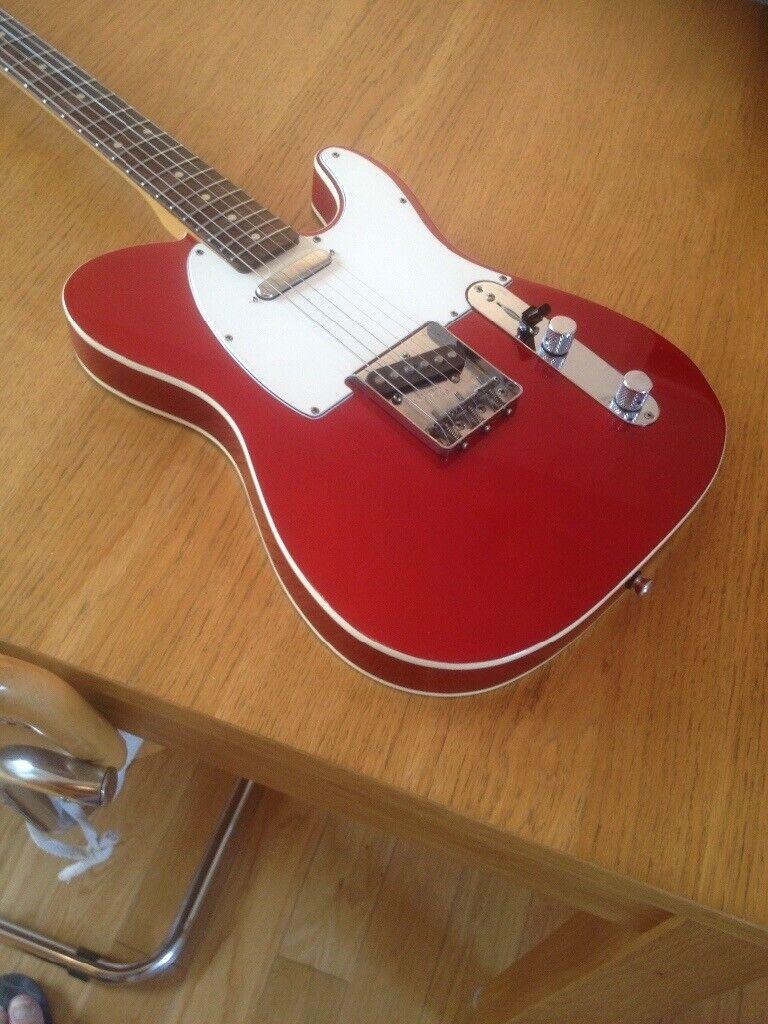 Fender Custom Telecaster MIJ 1985 Candy Apple Red 62 Reissue | in  Colchester, Essex | Gumtree