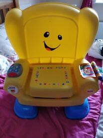 Fisher price yellow chair