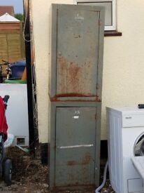 2 x storage cabinets rusty
