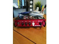 TC Electronic BH250 Toneprint Enabled Bass Head Amp and Peavey TVX 410 Cab