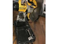 Dewalt DW872L cold cut 110v chopsaw