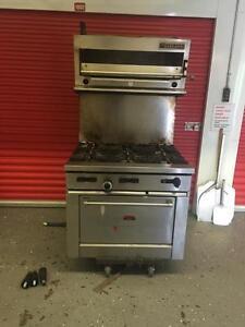 Used restaurant equipment , oven , pizza table , under counter fridge , tilting kettle , dishwasher , true display fridg