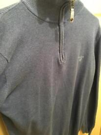 Men's Gant Quarter zip size medium