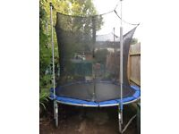 Trampoline with Enclosure, 8 Ft