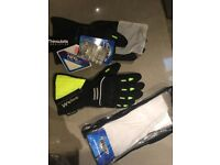 Weise Hornet Moto Gloves L RRP 45 waterproof with hipora membrane!!