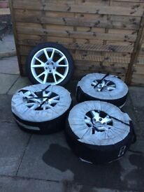 Audi A7 alloys with tyres
