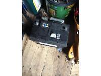 Car or van battery