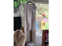 River island dress with long net at sides