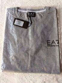 Armani T-Shirt - Grey - XL