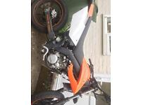 50cc Supermoto (fully working with minor defects which will all be fixed)