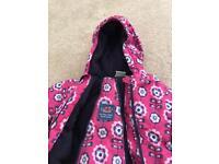 Jojo Maman Bebe fleece lined all in one 0-3 m