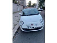 Fiat, 500, Convertible, 2013, Manual, 1242 (cc), 3 doors