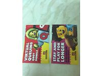 2 x Legoland tickets sat 29th October Windsor