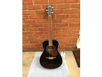 VINTAGE - Electric Acoustic Guitar w/case