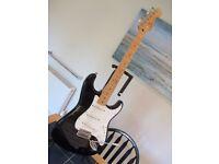 Fender stratocaster 6 string electric guitar MIM