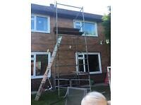 Heavy duty scaffold tower