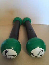 Zumba Ladies Exercise Shaker Weights