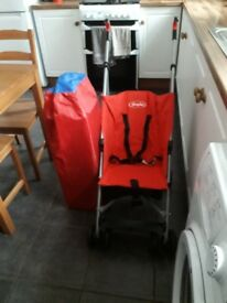 Pushchair and play pen/travel cot
