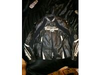Furygan cobra jacket and raptor trousers motorcycle leathers