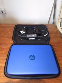 Blue HP Stream 11 Notebook For Sale