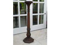 antique ashtray holder/plantstand