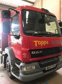 2007 15 tonne lorry mot ready for work