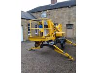Aerial E12 Cherry Picker in full working order with current LOLER certificate