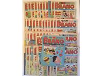 Vintage Collection of 50 Beano Comics - 1988 - 1991 - Antique Kids Childrens Toys Collectables