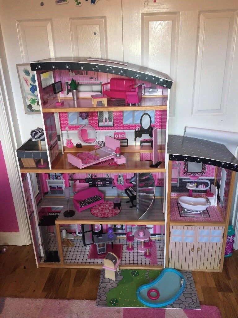 Kidkraft Sparkle Mansion Dollhouse In Liberton Edinburgh Gumtree