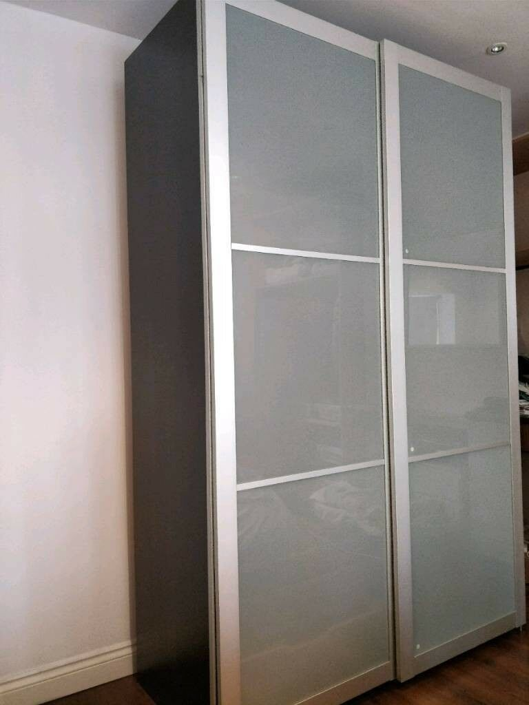 Wardrobe Gumtree Glass Cm Potters Lyngdal Sliding Doors150x66x201 Excellent Pax Ikea With BarHertfordshire ConditionIn Frosted rBxQodCEeW