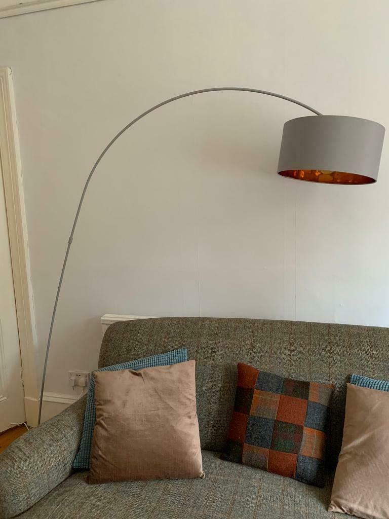 Sweep Arc Over Reach Floor Lamp Pale Grey Copper By Made In East Dunbartonshire Gumtree