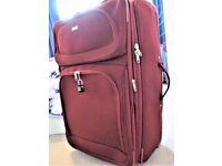 QUALITY - 2 WHEELER - 30 INCH TRAVEL SOFT SUITCASE - EXPANDABLE - LIGHT WEIGHT