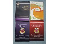 GCSE Science, Physics and Chemistry Revision Books / Study Guides