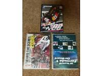 Motor sport dvds (unopened)