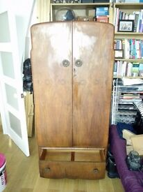 Vintage/antique wardrobe; 1930/1940