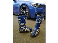 Fox motocross boots size 9