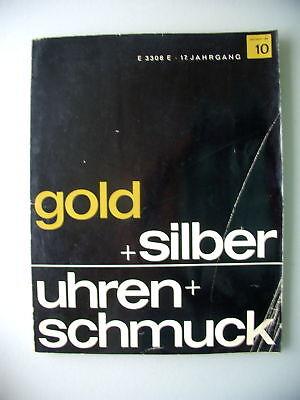 gold + silber Uhren + Schmuck 1964