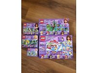 Lego Friends 4 Boxed Complete Sets in Excellent Condition + 1 Boxed Incomplete (all second hand)