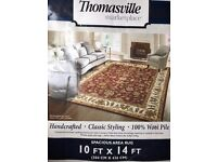 Extra large pure wool rug in perfect condition