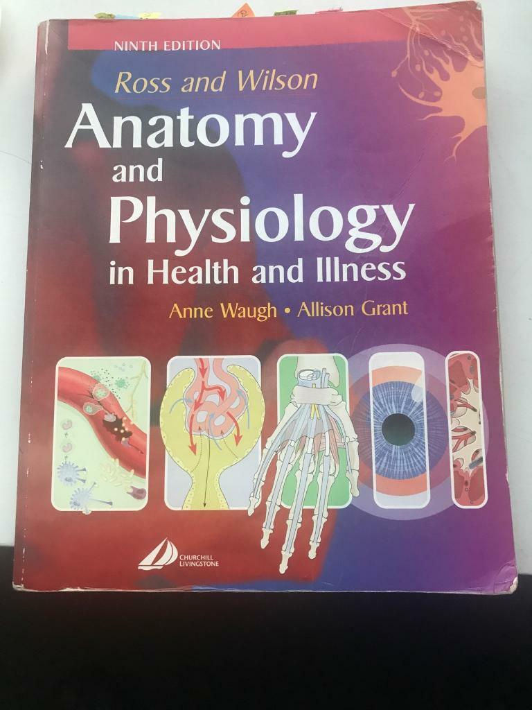 Ross & Wilson Anatomy & Physiology book | in Southside, Glasgow ...