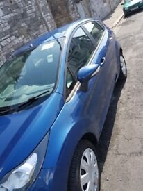 Ford fiesta 2010 (59), low mileage 37k, 5 doors, manual, £ 20 tax a year only.