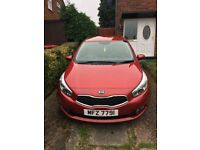 2013 Red Kia Ceed 1.4l for sale in great condition with full service history