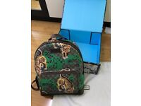 1c45657e9b2c93 Brown Gucci GG Supreme Bengal Tiger Mens Backpack. Sold Out Exclusive RRP  £1800 -