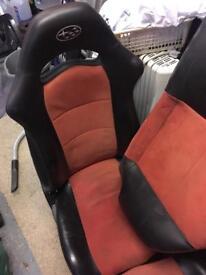 Classic subaru seats