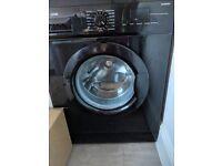 Black logik 8kg washing machine