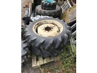 Kubota wheels and tires tyres dumper compact tractor