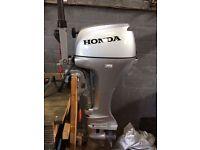 20HP 4 stroke Honda outboard for boat (Includes 6 year Honda warranty)