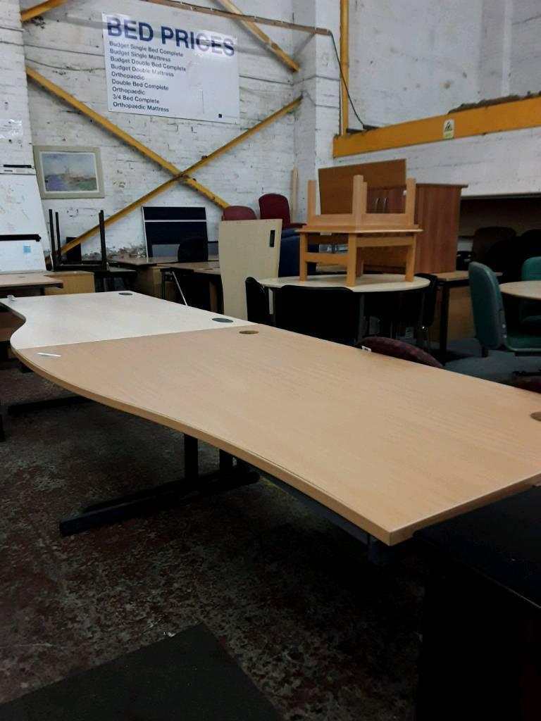 Wave Ergonomic Office Desks. Priced Each.